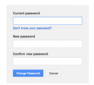 How I was able to bypass the current password?